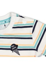 Feetje T-shirt streep - Team Icecream