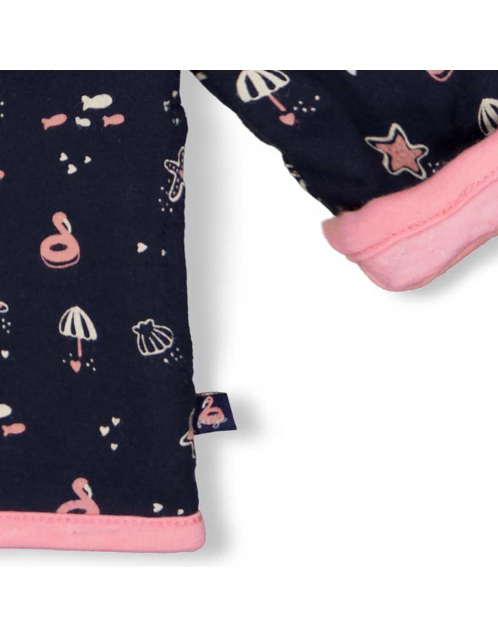 Feetje Omkeerbaar jasje met capuchon - Seaside Kisses