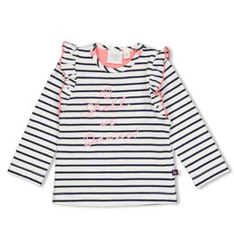 Feetje Longsleeve streep - Seaside Kisses