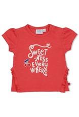 Feetje T-shirt Everywhere - Cherry Sweetness