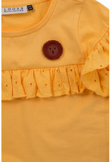 Looxs Little Little t-shirt s. sleeve vanilla