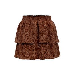 Looxs Little Little skirt mini leopard