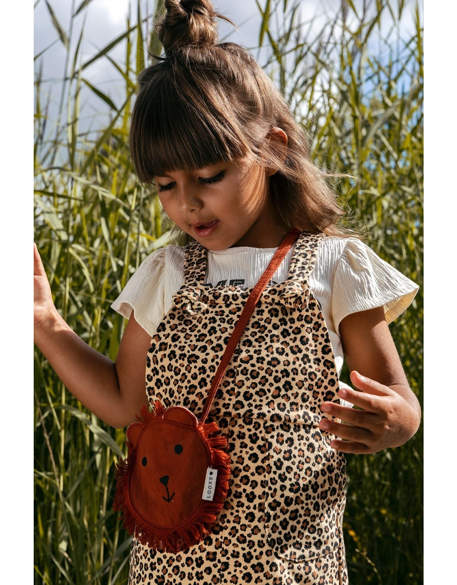 Looxs Little Little salopette dress wildlife