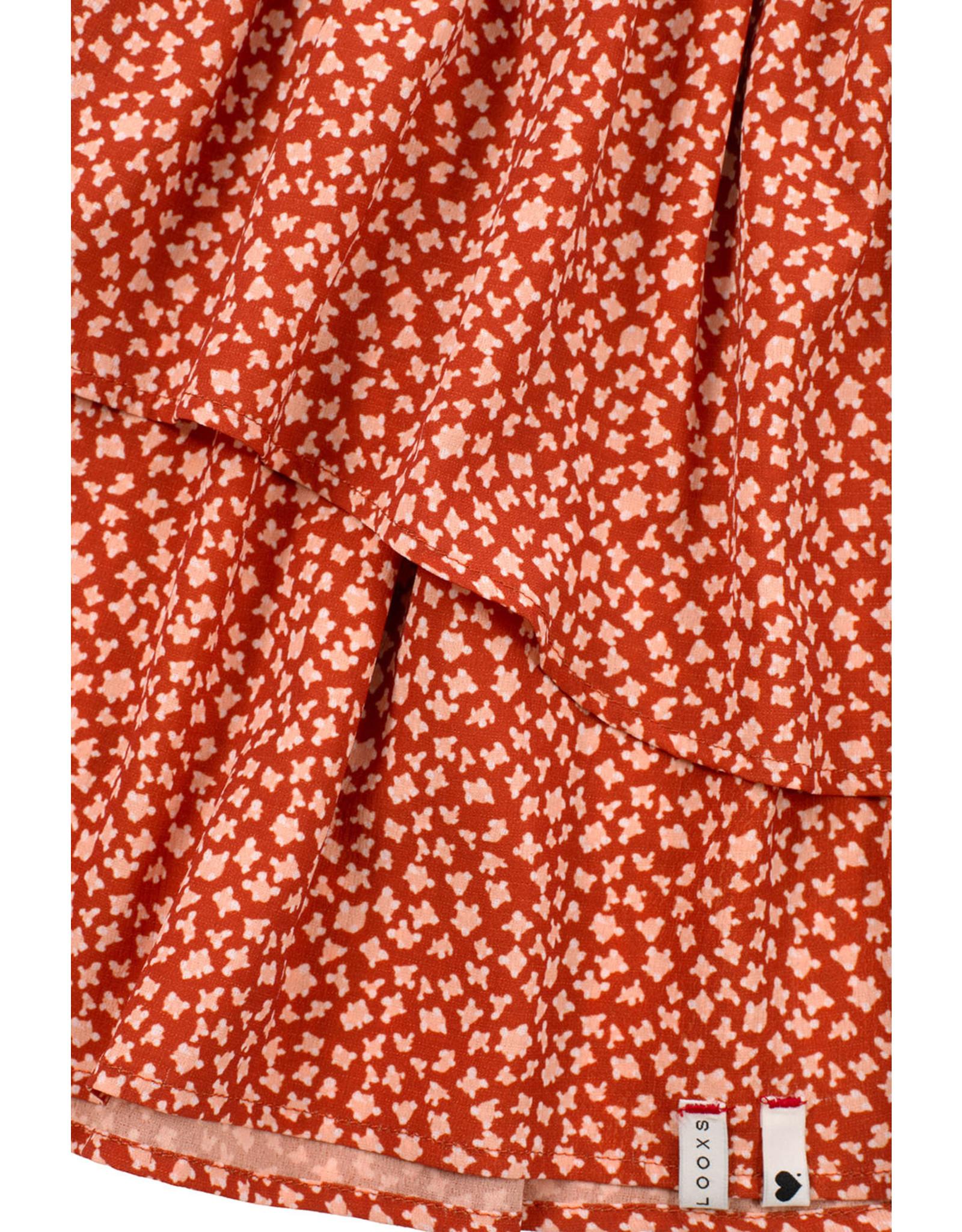 Looxs 10SIXTEEN 10Sixteen printed skirt terra