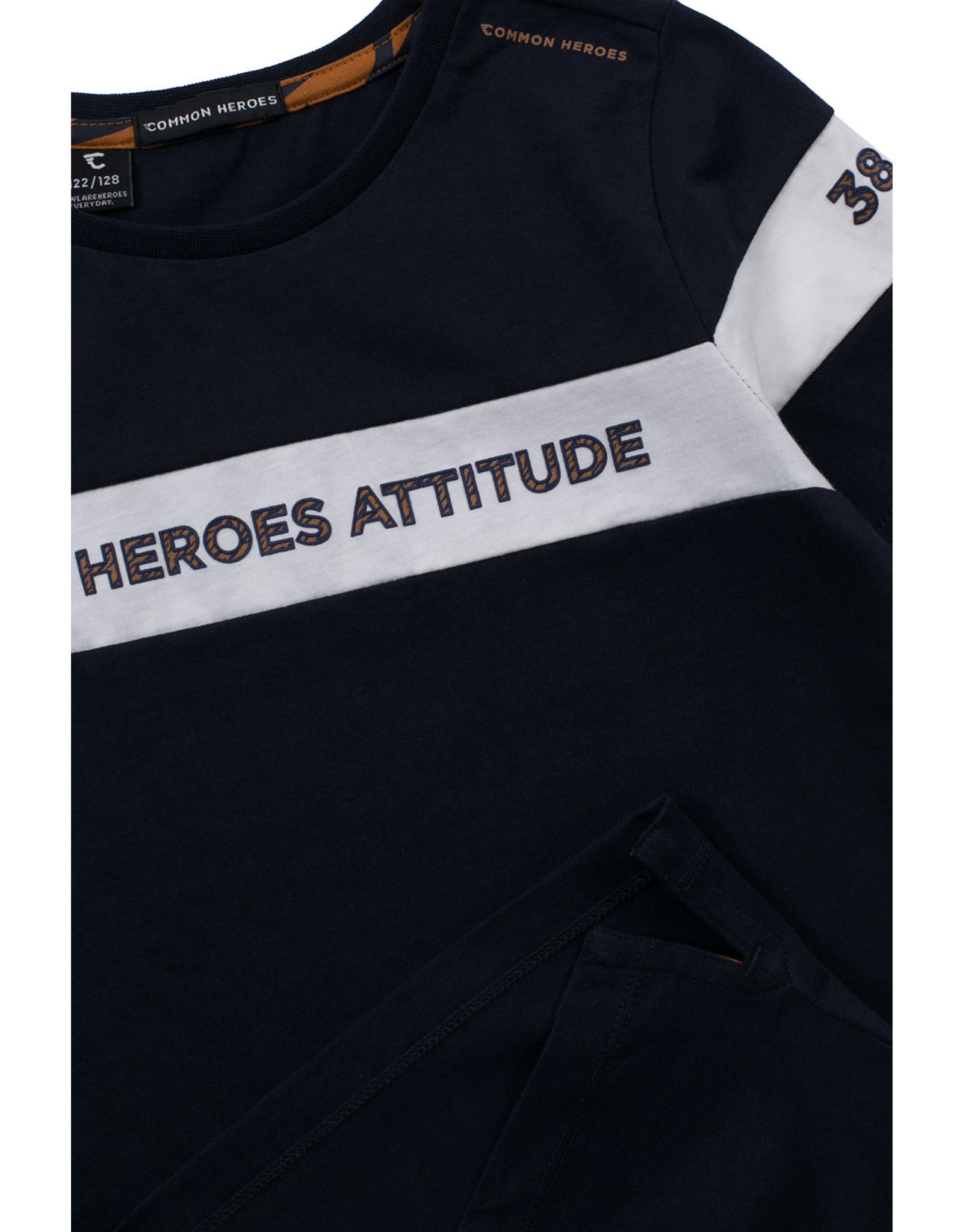 Common Heroes TIM T-shirt marine