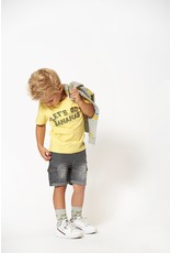 Sturdy T-shirt Let's Go geel  - Playground