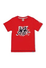 Sturdy T-shirt Fast rood  - Playground