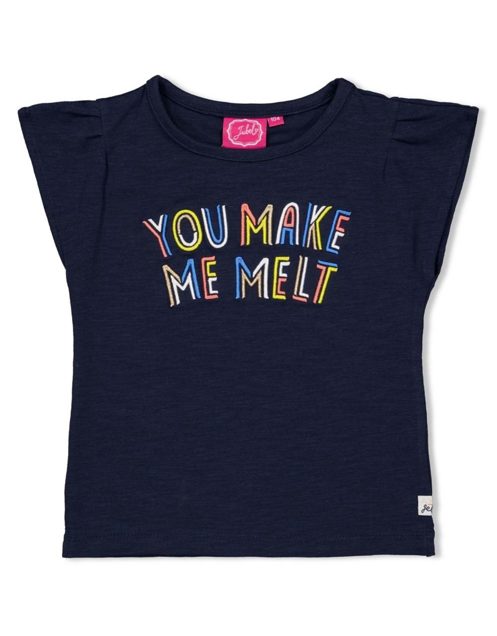 Jubel T-shirt Melt marine - Sweet Gelato