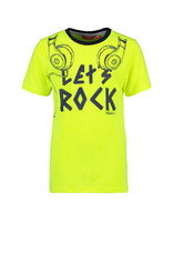 Tygo & Vito T&v neon T-shirt LET`S ROCK