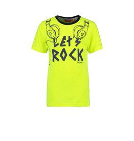 Tygo & Vito T&v neon T-shirt LET`S ROCK