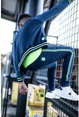 Tygo & Vito T&v jog pants striped tape navy