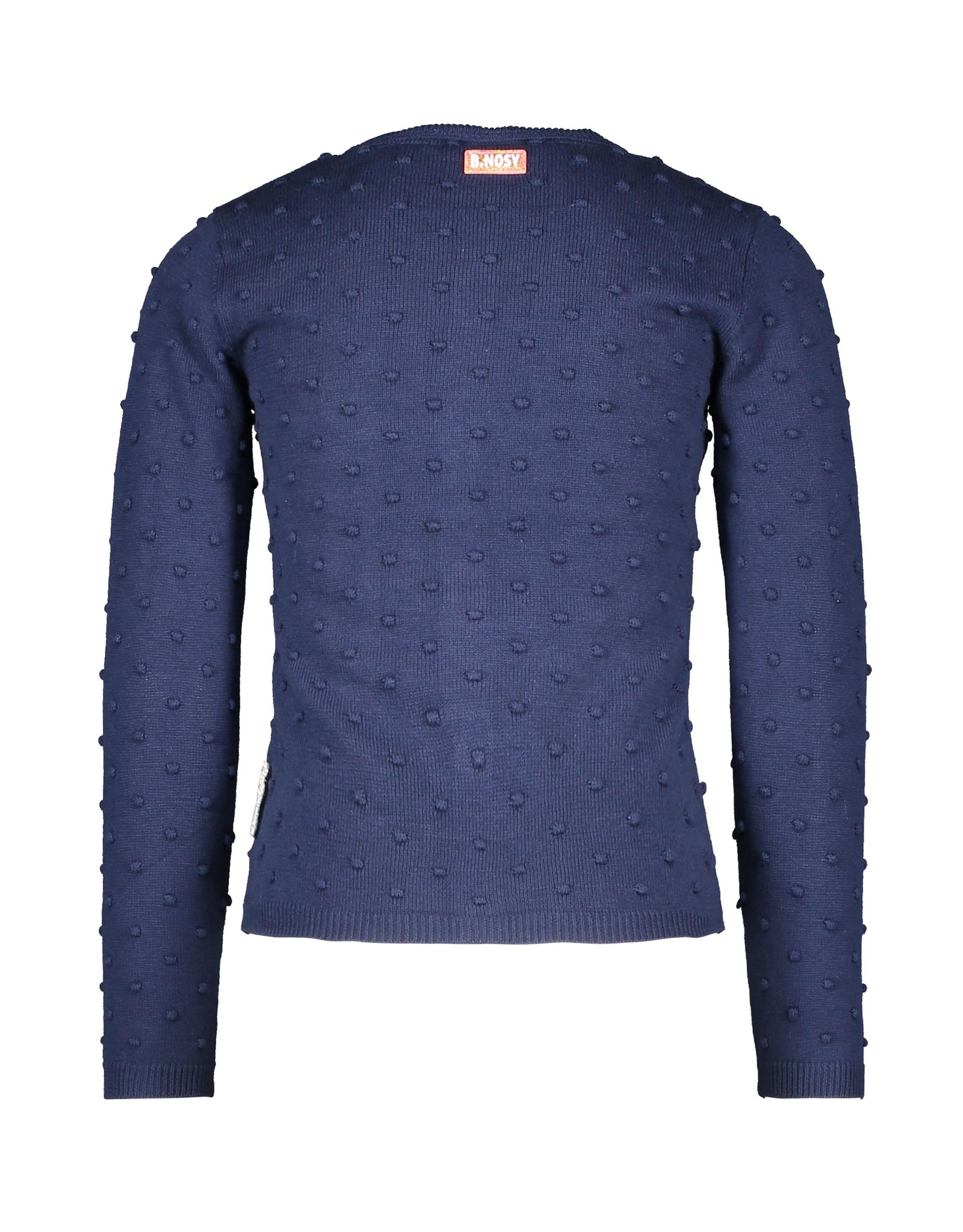 B.Nosy Girls jaquard knitted cardigan