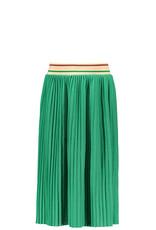 Like Flo Flo girls jersey plisse skirt maxi green