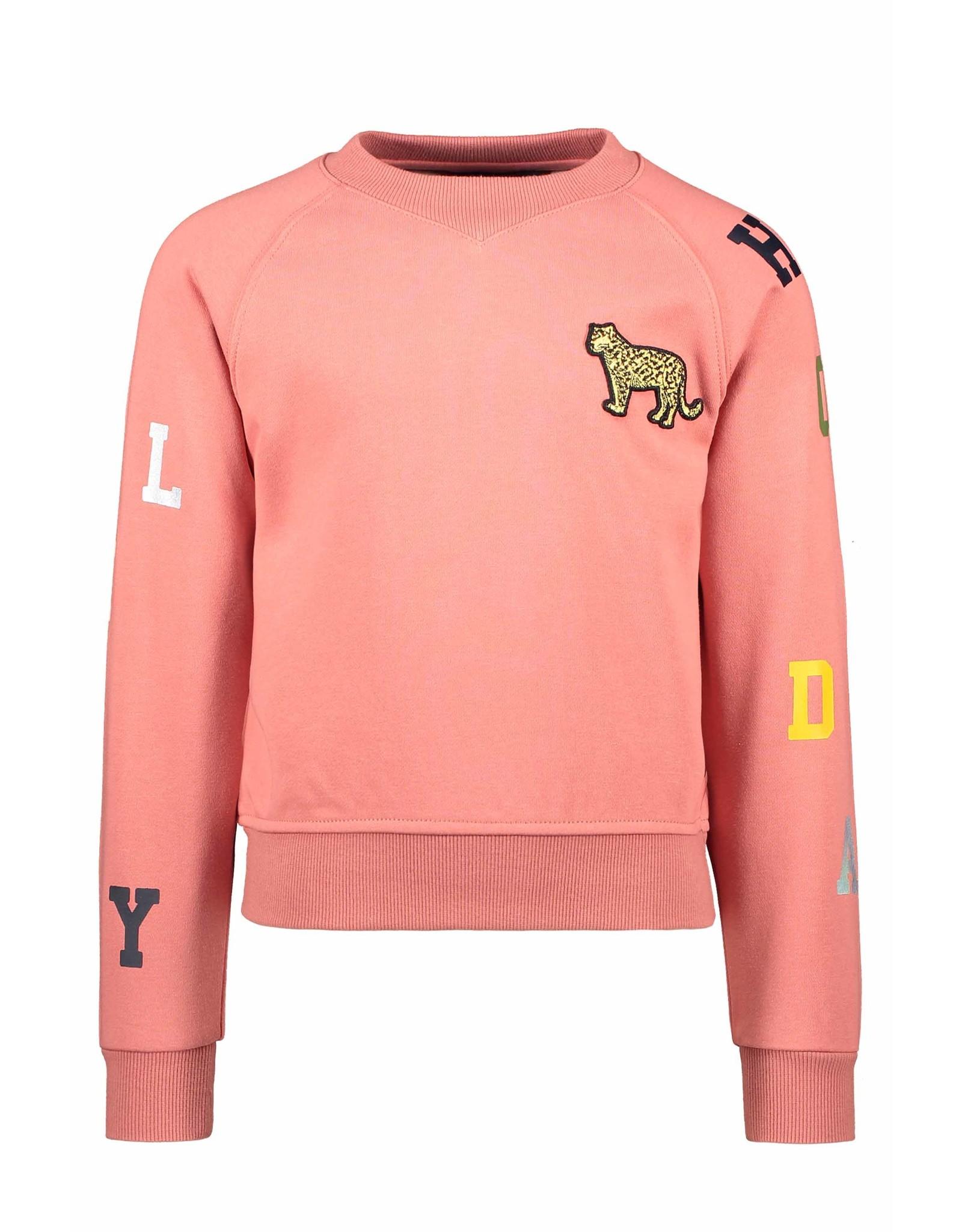Like Flo Flo girls ls sweater blush