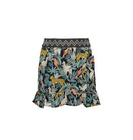 Like Flo Flo girls AO leaf woven ruffle skirt