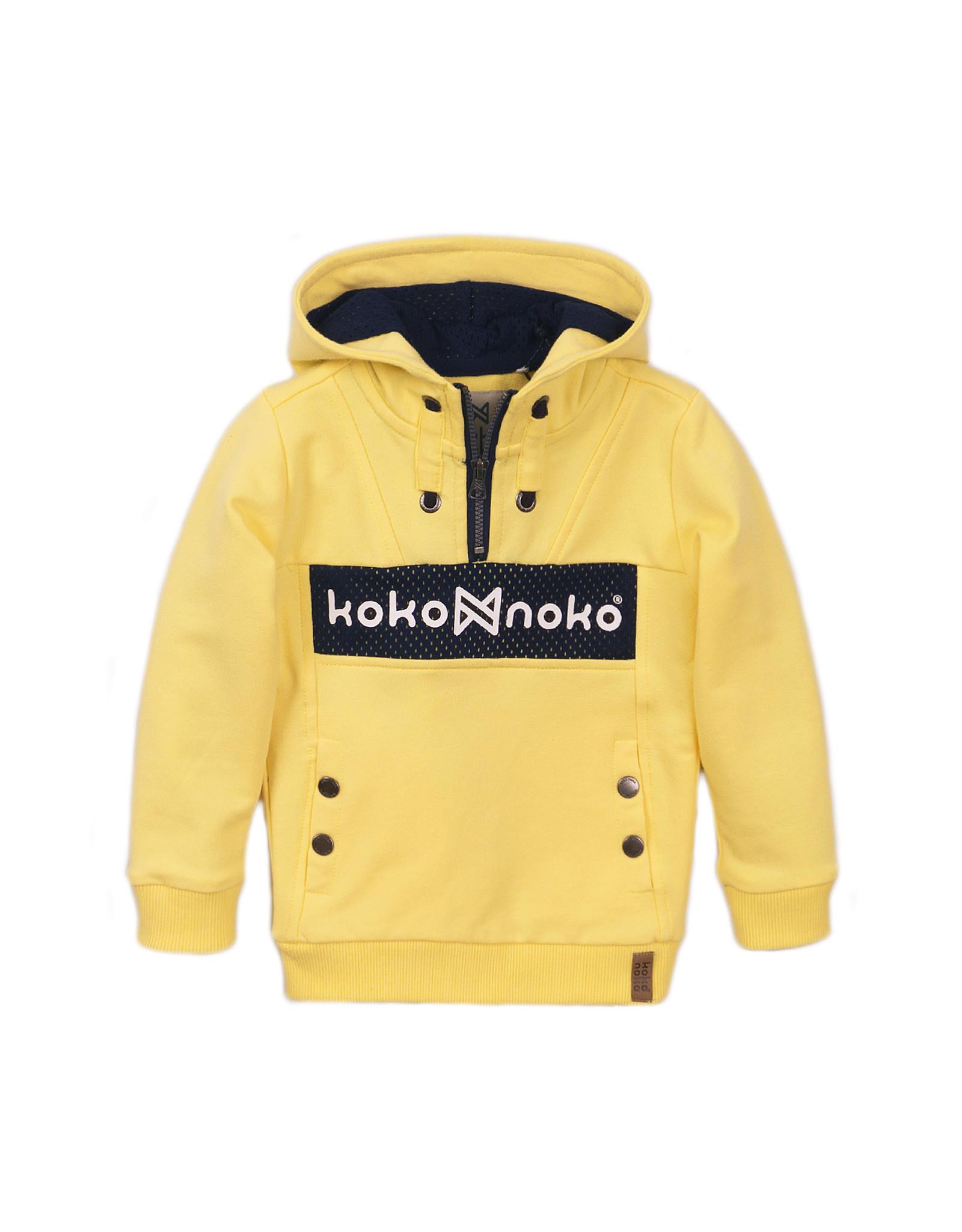 Koko Noko Boys Sweater ls with hood