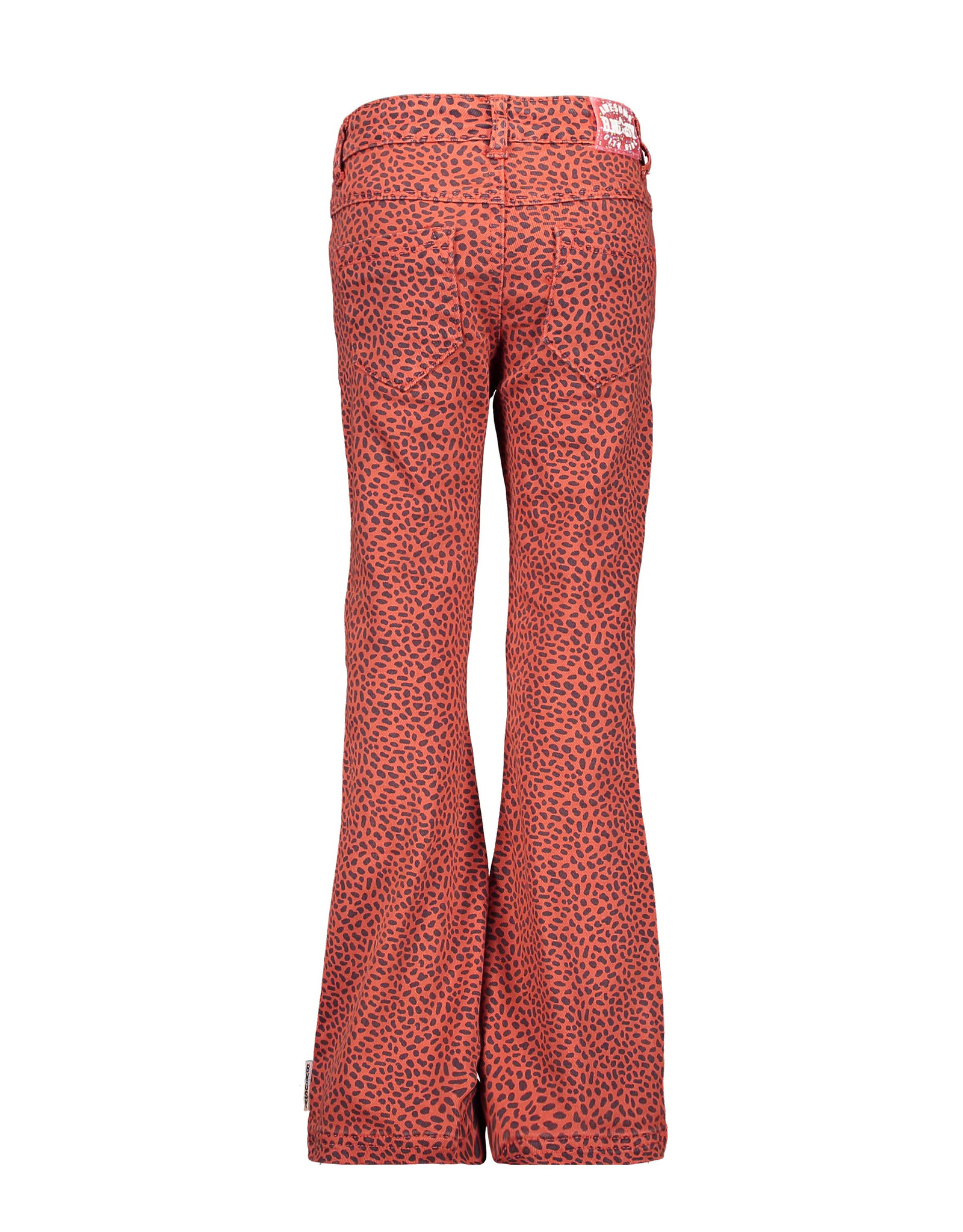B.Nosy Girls mix dots flaired  pants