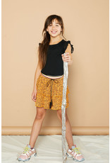 Nono NikkieB 2 layered short skirt in Pebblestone AOP