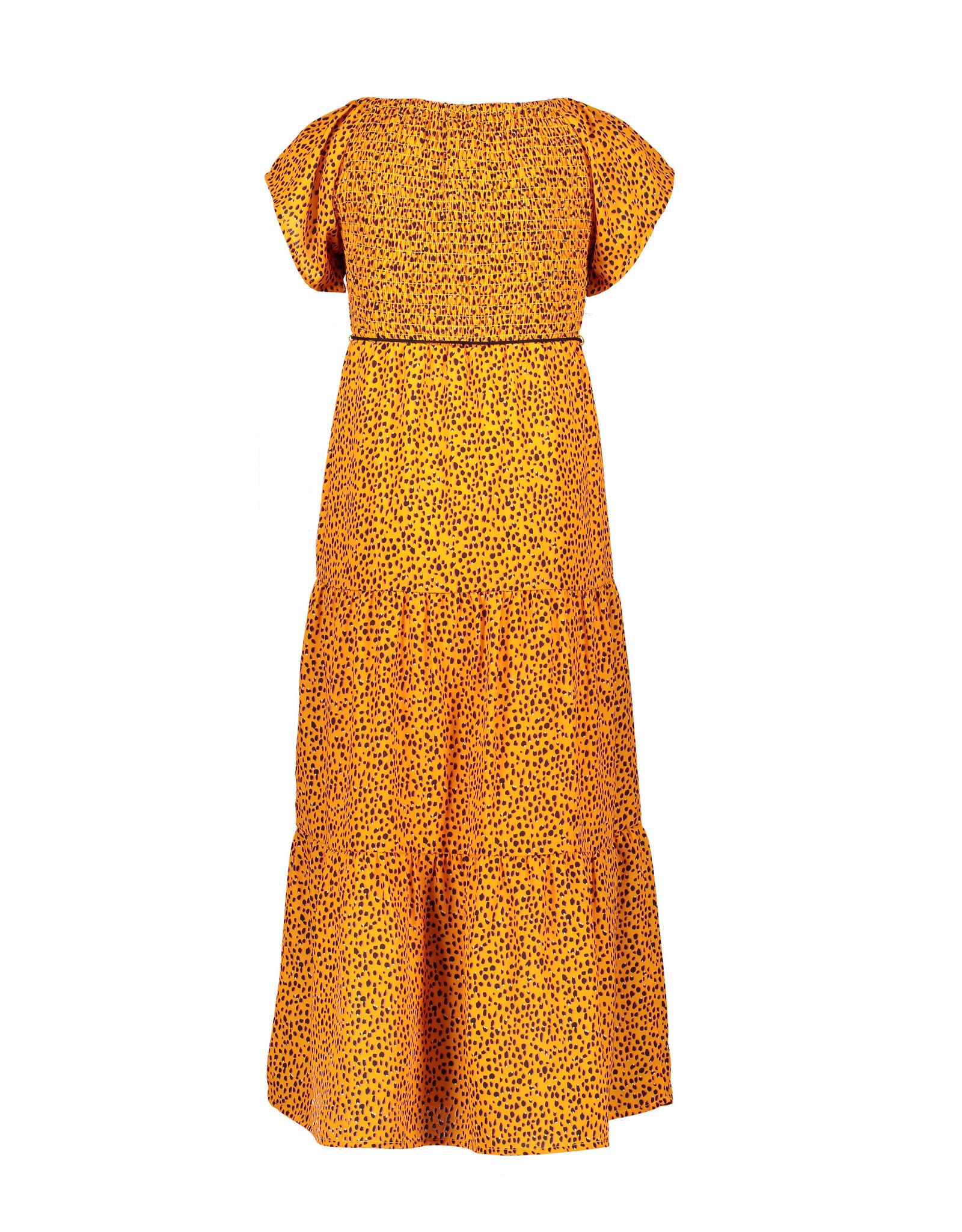 Nono Malia ss maxi dress in Pebblestone aop