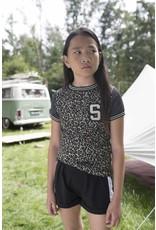 Street Called Madison Luna sporty polyester short SAMMY BK