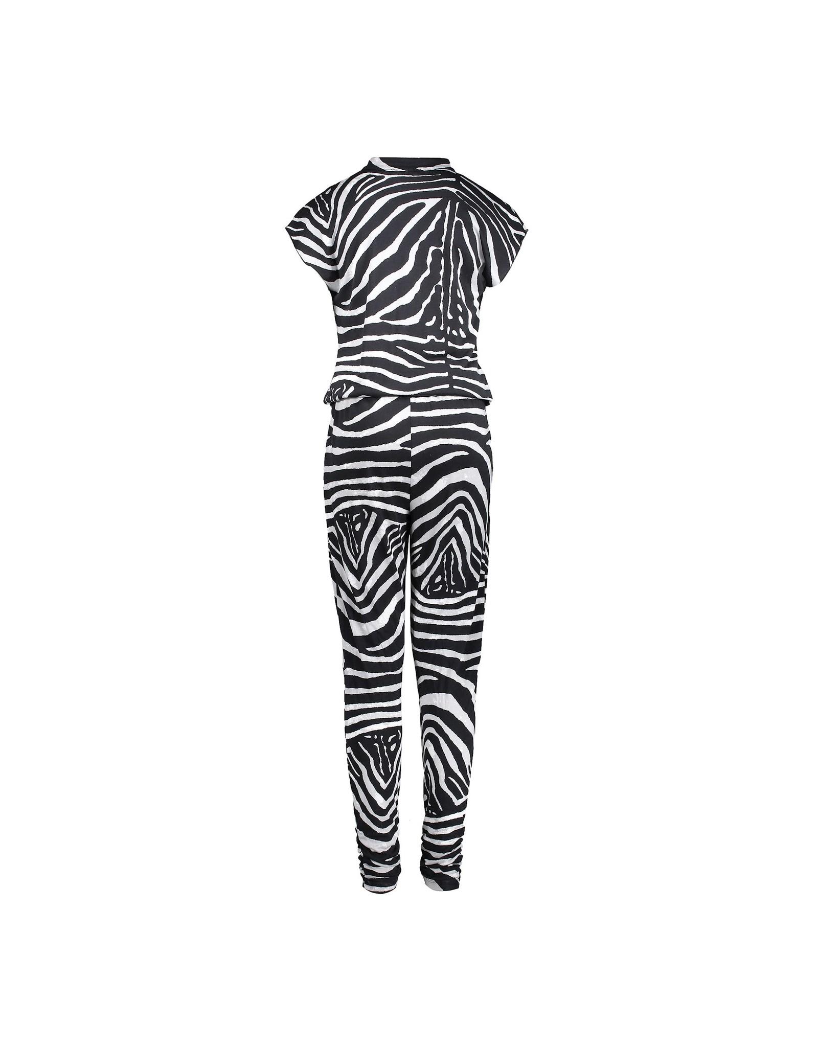 Geisha Jumpsuit AOP zebra