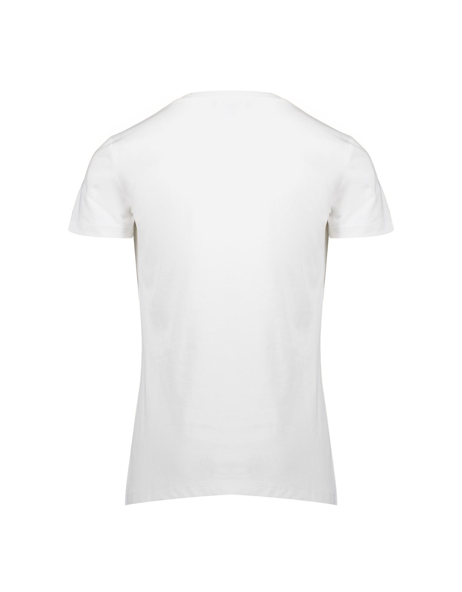 "Geisha T-shirt ""leopard"" round circle s/s"