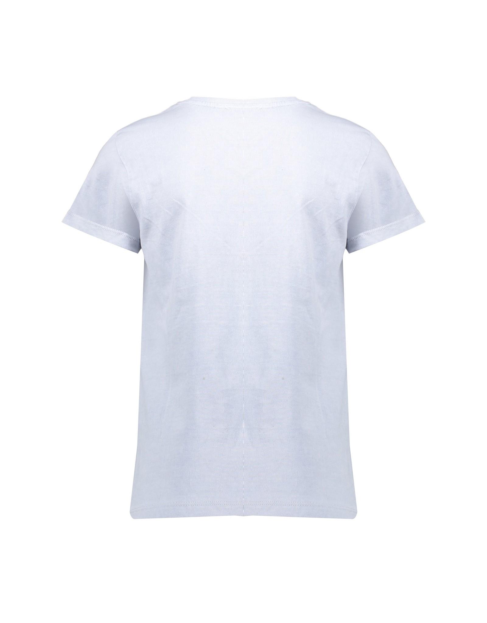 Geisha T-shirt garment dyed tiger head s/s