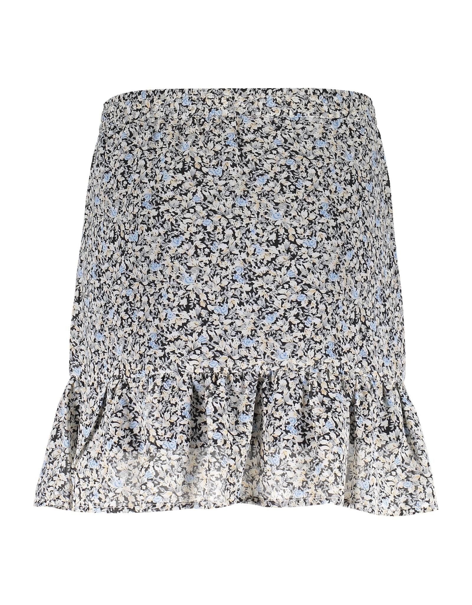 Geisha Skirt AOP little flowers & ruffle