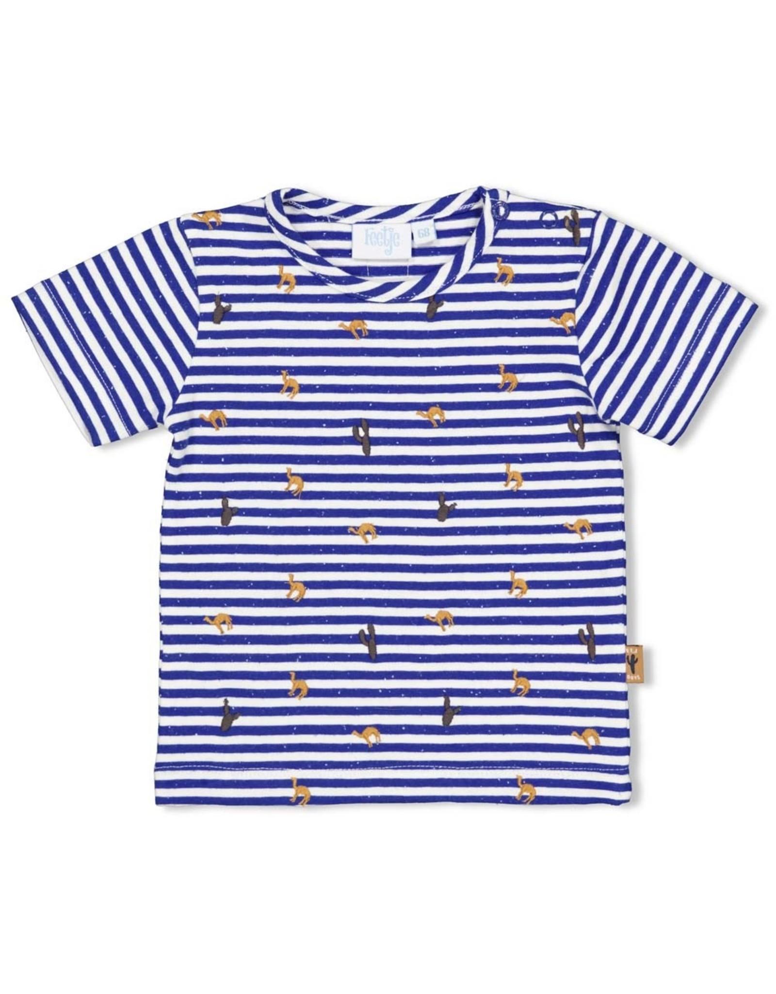 Feetje T-shirt streep - Looking Sharp