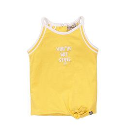 Koko Noko Girls T-shirt sleeveless yellow