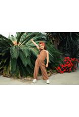 Koko Noko Girls Jumpsuit sleeveless camel