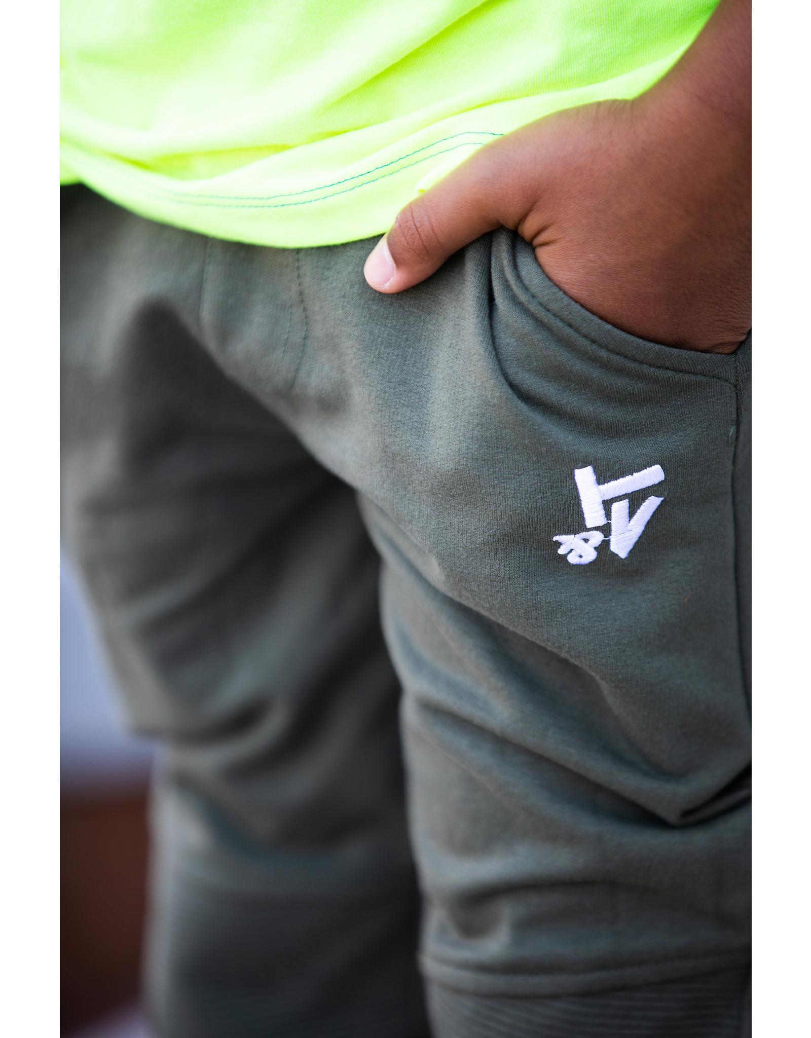 Tygo & Vito T&v jog pants kneepatch army