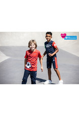 Tygo & Vito T&v jog short contrast tape navy