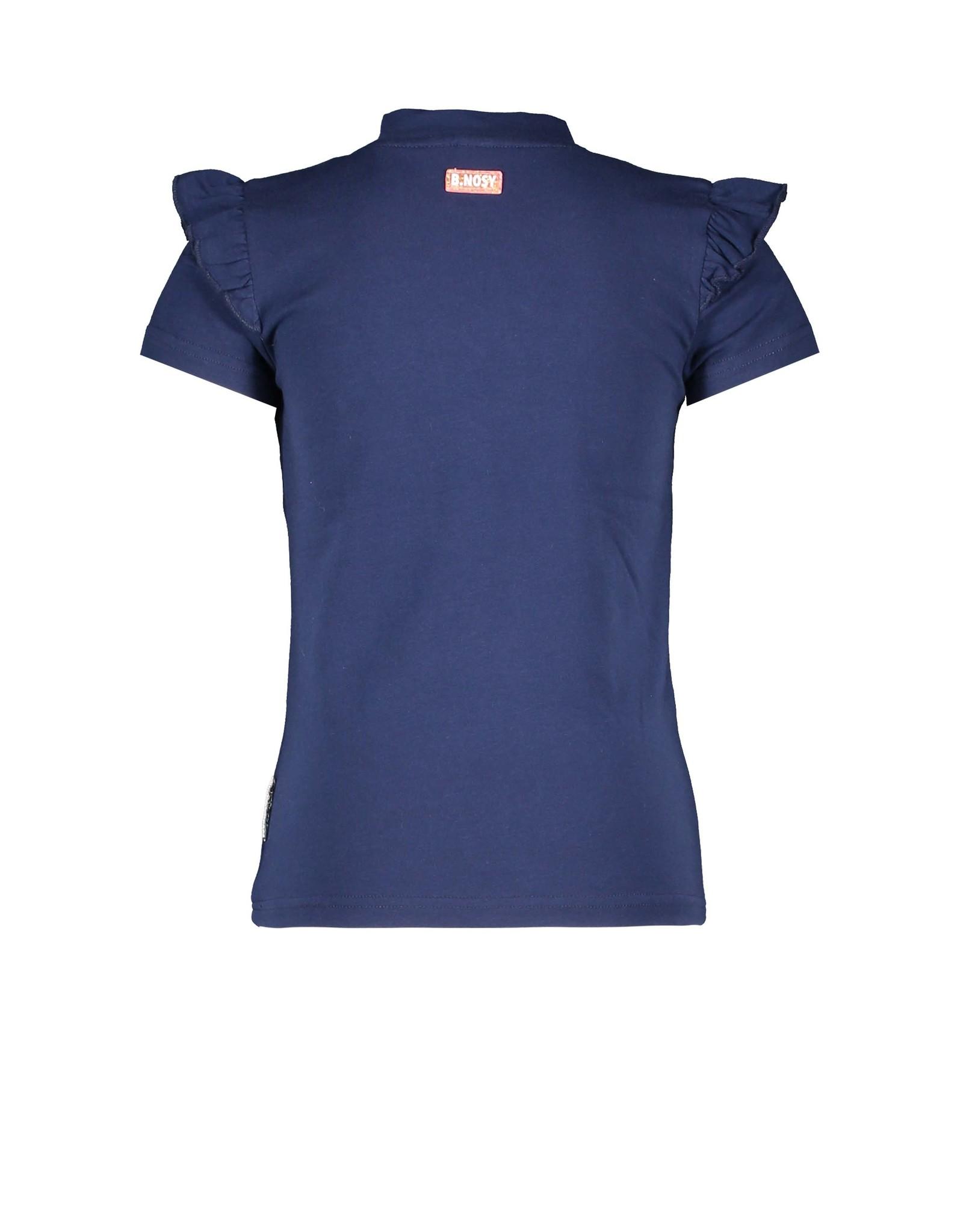 B.Nosy Girls t-shirt with tassel artwork
