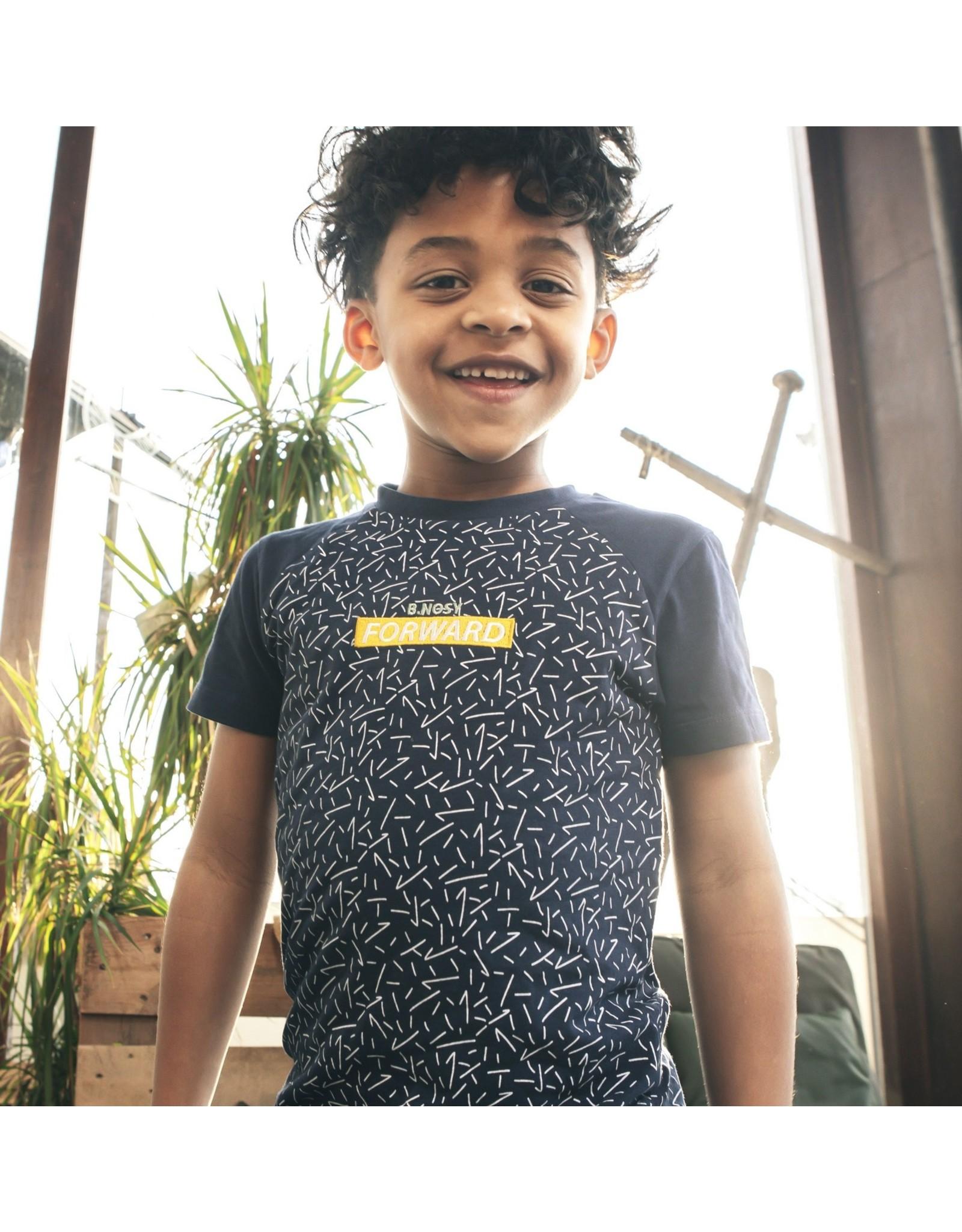 B.Nosy Boys ss raglan shirt