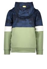 B.Nosy Boys hooded cardigan with zipper