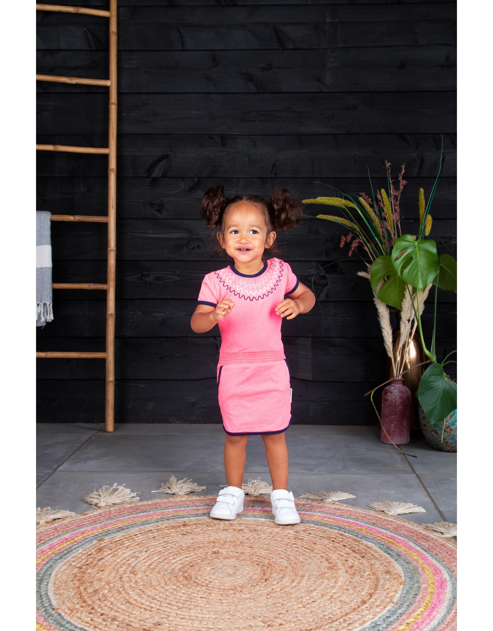 B.Nosy Baby girls dress with smock wb