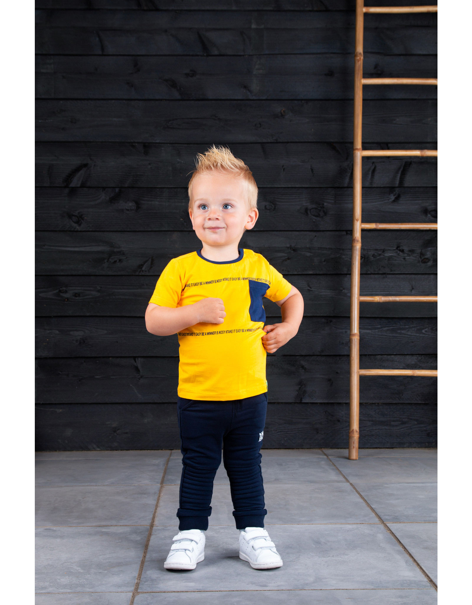 B.Nosy Baby boys ss t-shirt with pocket