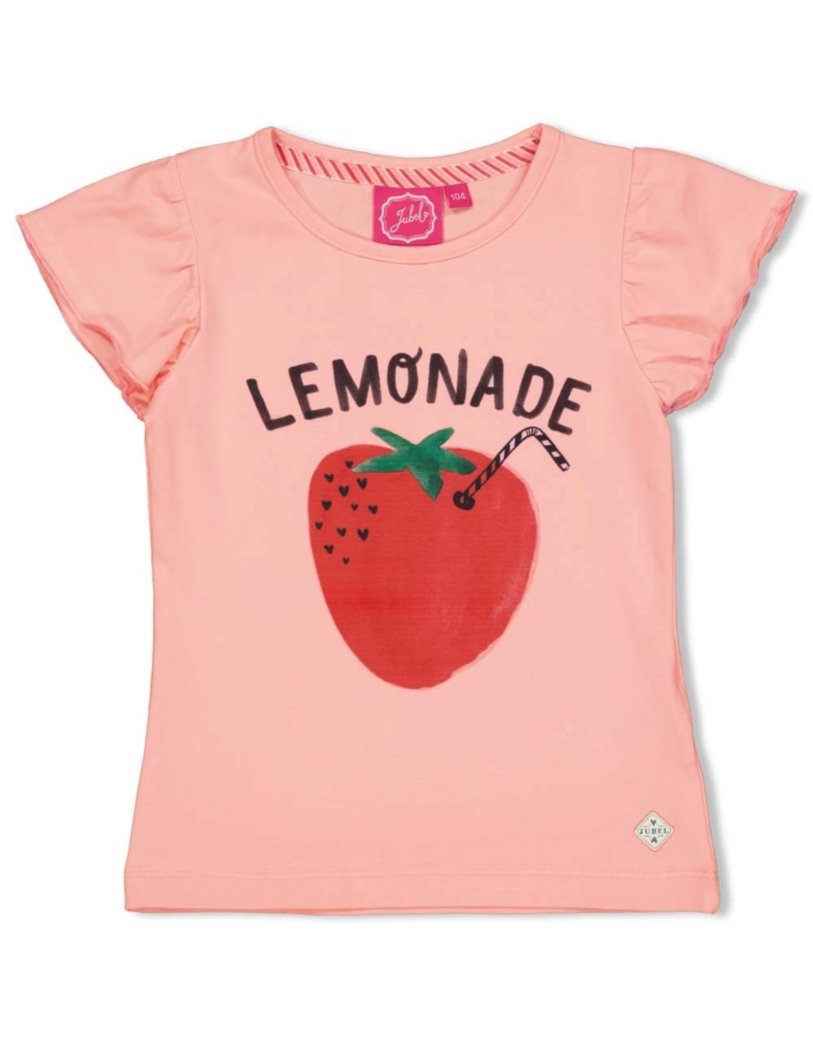 Jubel T-shirt Lemonade roze - Tutti Frutti