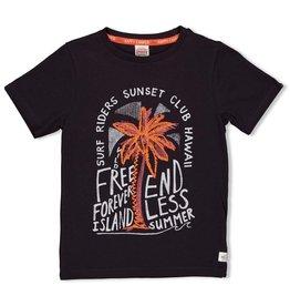 Sturdy T-shirt antraciet - Happy Camper
