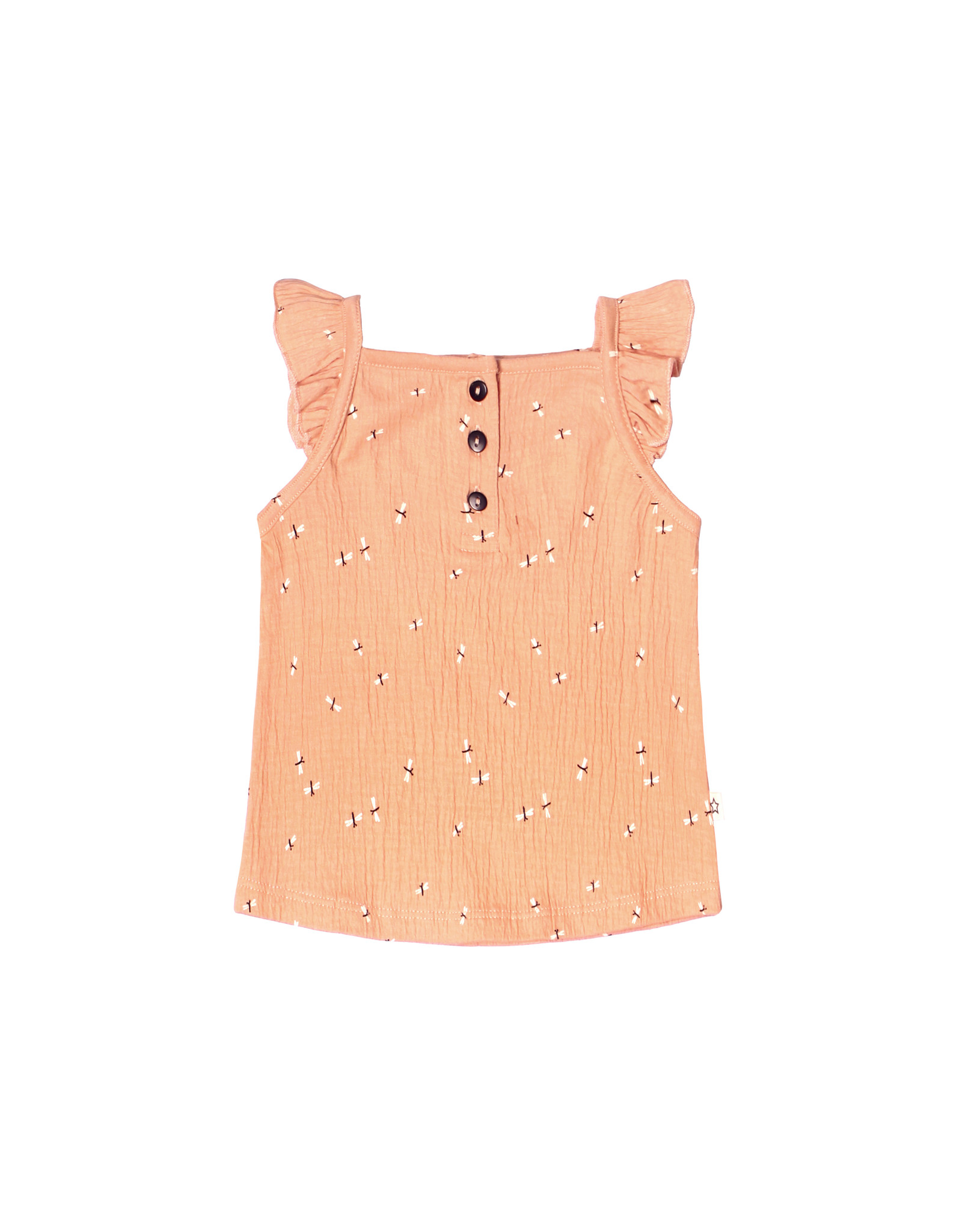 Your Wishes Dragonfly   Ruffle Singlet