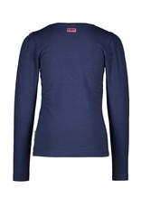 B.Nosy Girls t-shirt with contrast ruffle