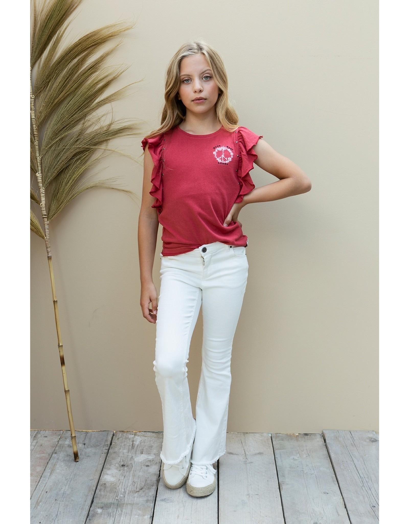 Looxs 10SIXTEEN 10Sixteen fancy T-shirt blush