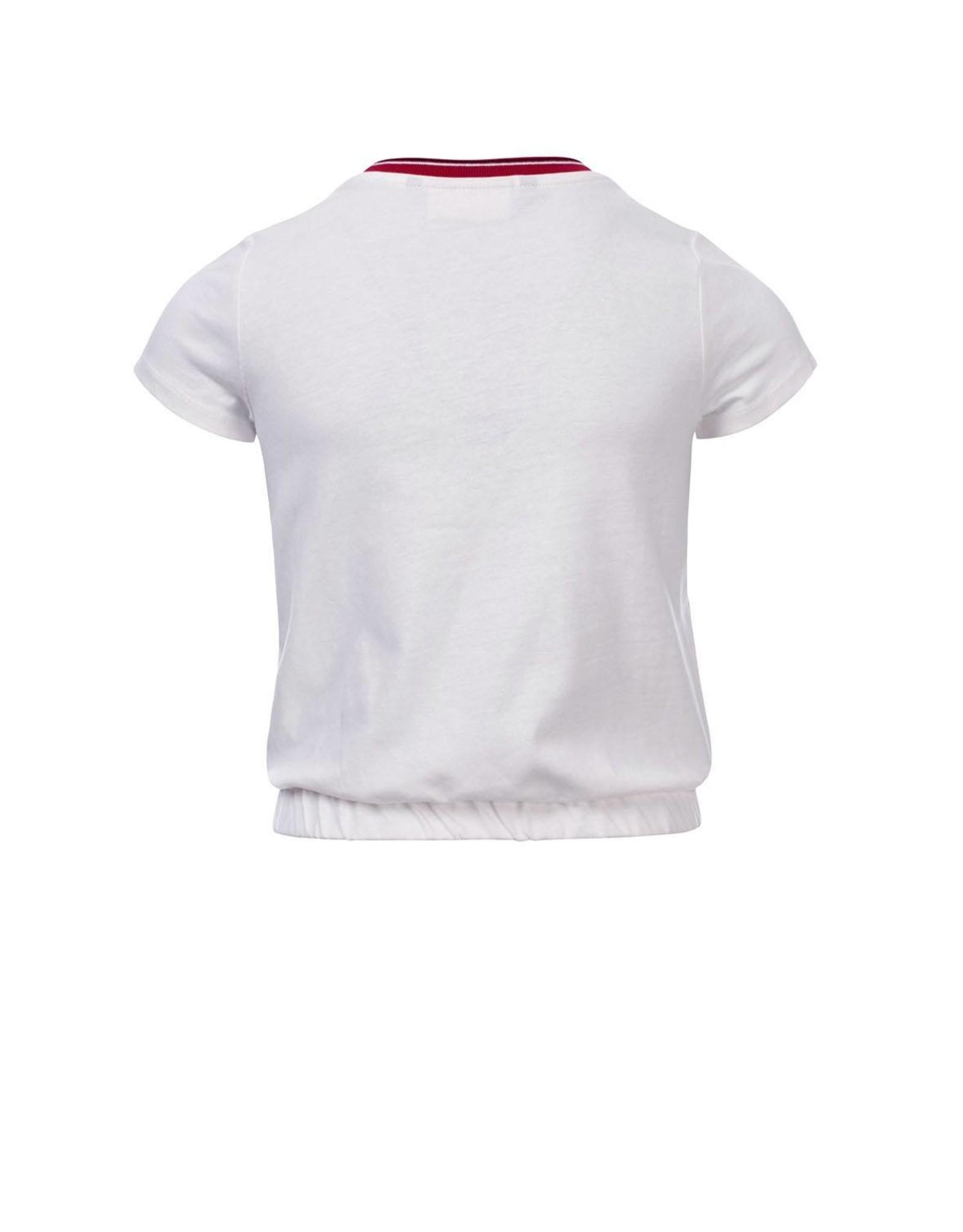 Looxs 10SIXTEEN 10Sixteen T-shirt white lilly