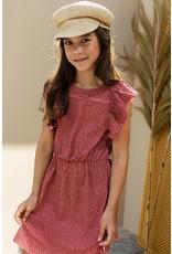 Looxs 10SIXTEEN 10Sixteen printed dress blush