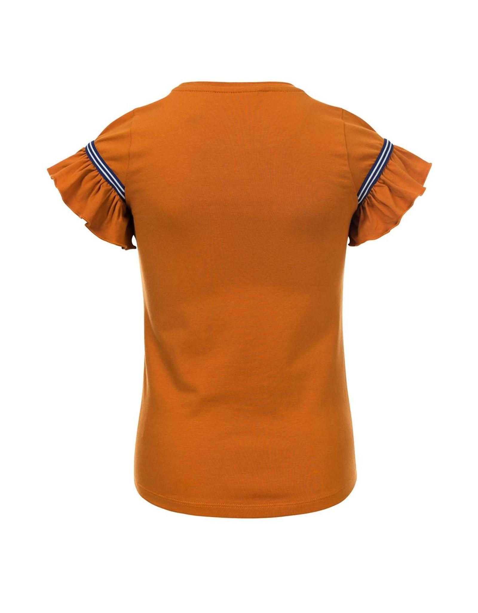 Looxs Little Little t-shirt s. sleeve ochre