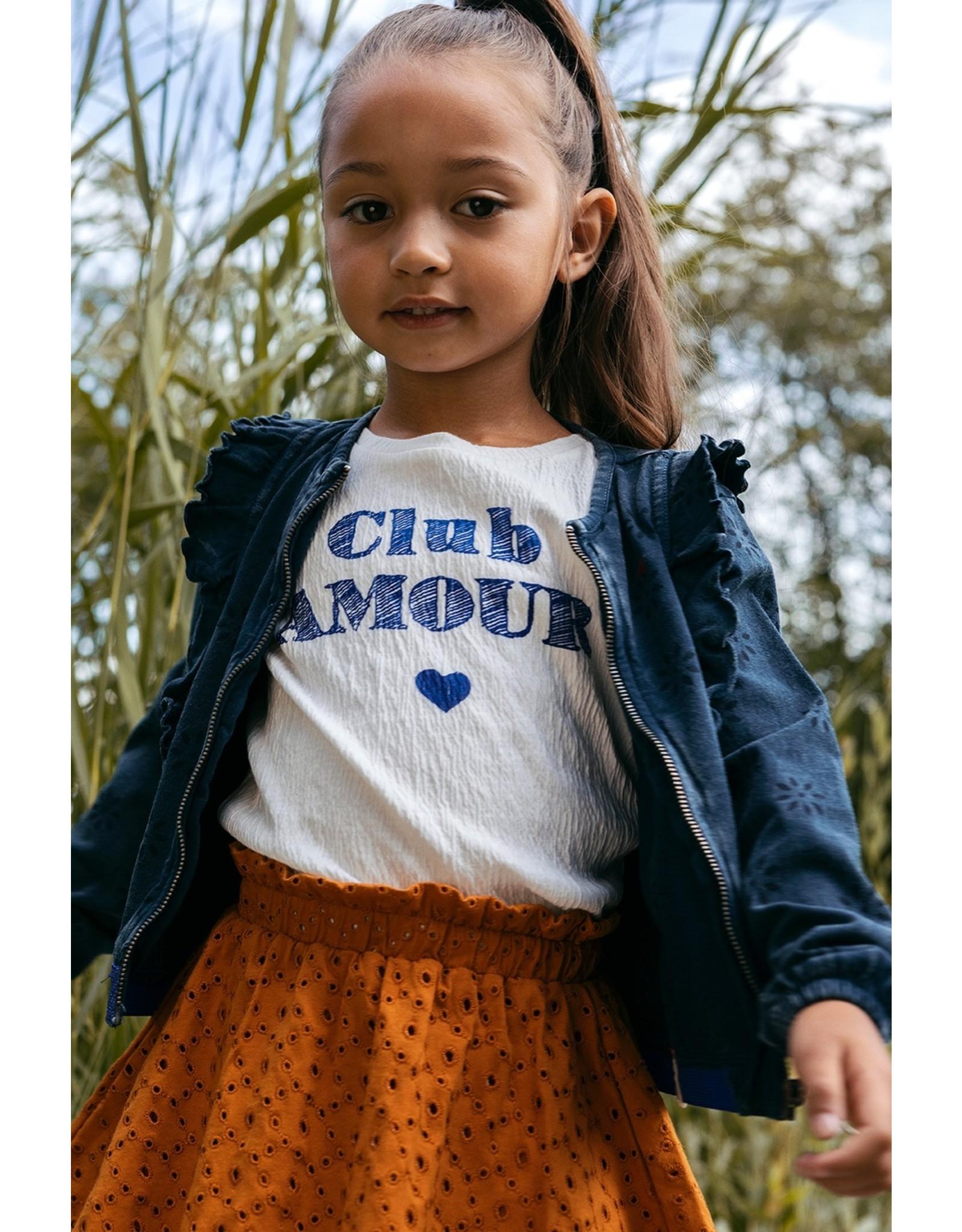 Looxs Little Little t-shirt s. sleeve ivory