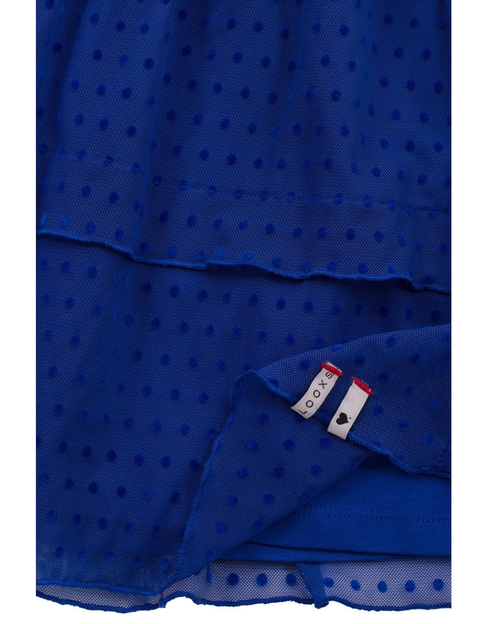 Looxs Little Little skirt kobalt