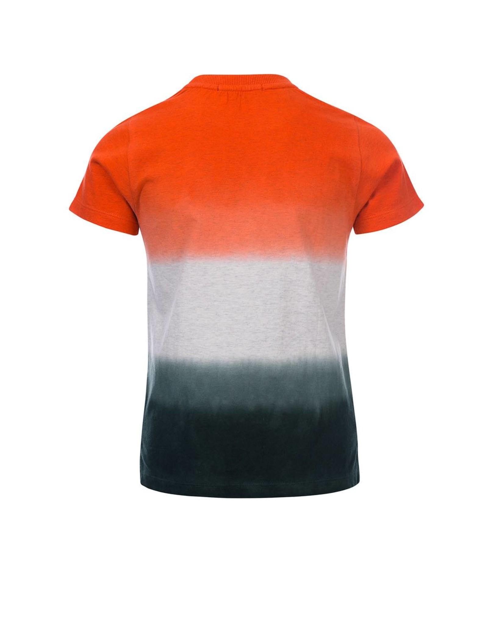 Common Heroes TIM Dip dye T-shirt ivory