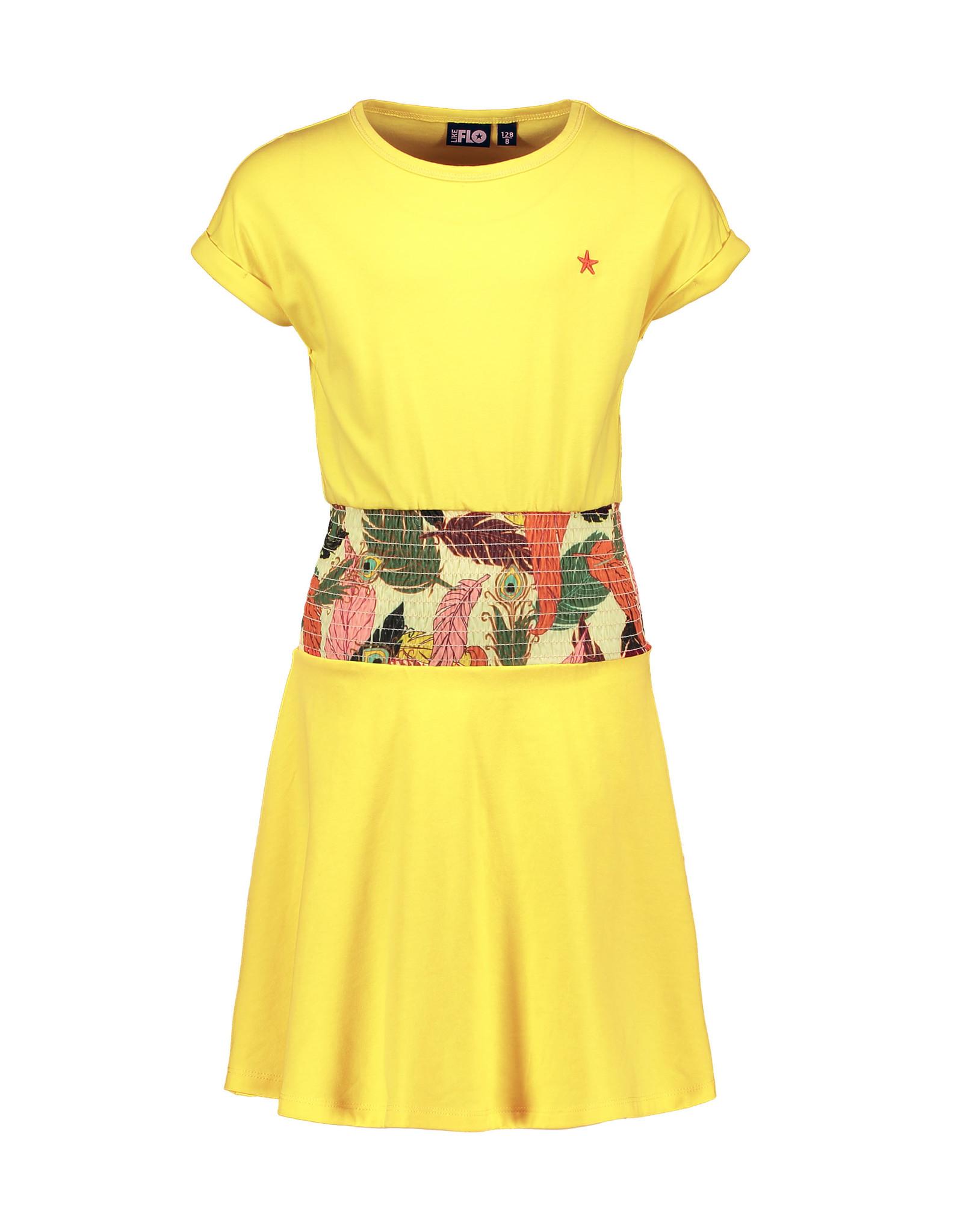 Like Flo Flo girls high waist smock dress maat 104